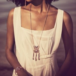 Sunlit Savanna Convertible Tassel Necklace